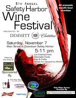 Dimmitt Cadillac - Sponsor of 8th Annual Safety Harbor Wine Festival