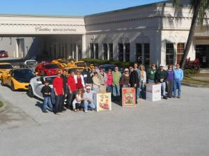 Toys For Tots 2011 - Lotus & Aston Martin