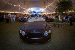 Bentley at 2014 Polo Under the Palms