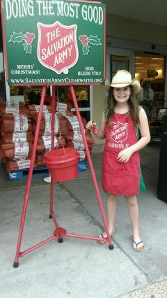 Dimmitt Automotive Group Volunteers with Salvation Army